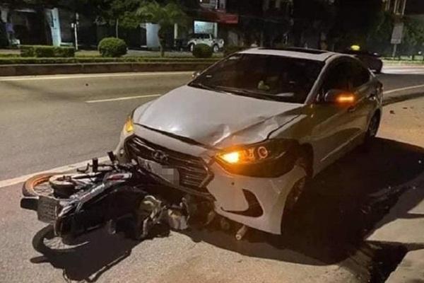 Thanh tra GTVT lái ôtô tông chết người-1