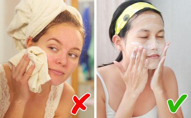 Vì sao không nên rửa mặt quá một phút?-3