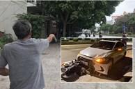 """Nhân chứng kể lại thời điểm thanh tra Sở GTVT lái ô tô ngược chiều, tông nữ lao công tử vong: """"Lúc ấy cảnh tượng thương tâm lắm, ô tô đẩy xe máy hàng chục mét mới dừng lại'"""
