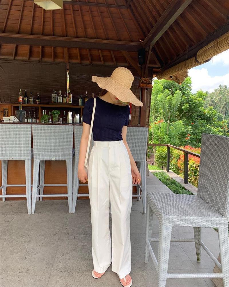 Hội con gái Hàn hay mix quần ống suông với 3 kiểu áo này để ghi điểm sành điệu và sang xịn nhất-6