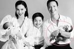 Hồ Ngọc Hà đăng bức ảnh gia đình đẹp như mơ nhưng hội mẹ bỉm sữa lại phát hiện ngay ra điểm không ổn