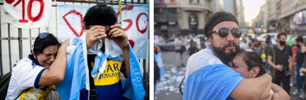 Đất nước Argentina chìm trong biển nước mắt tiếc thương Maradona-4