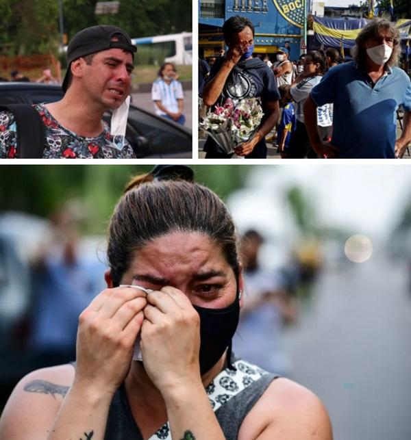 Đất nước Argentina chìm trong biển nước mắt tiếc thương Maradona-5