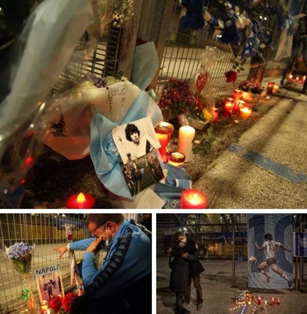 Đất nước Argentina chìm trong biển nước mắt tiếc thương Maradona-9