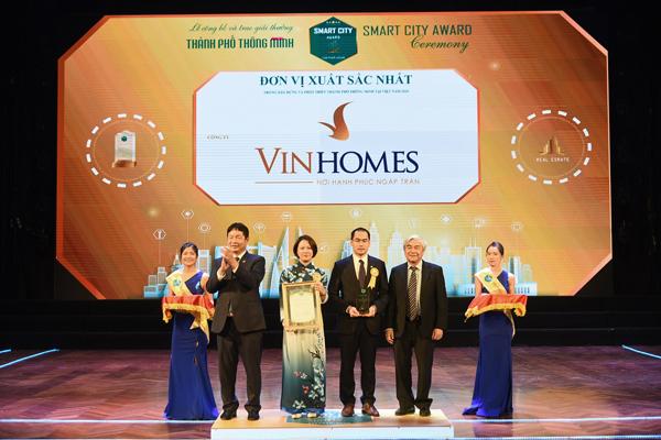Vinhomes Ocean Park nhận cú đúp giải thưởng 'Thành phố thông minh 2020'-1