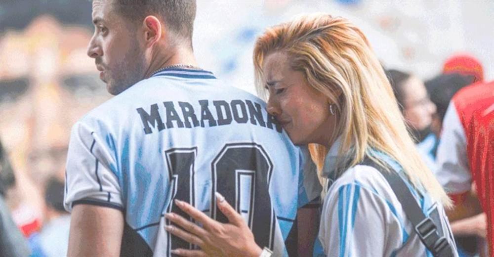 Mong muốn cuối của Maradona khiến người Argentina òa khóc-5