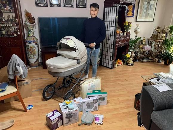 Đăng ảnh chuẩn bị đồ cho con sắp chào đời, Mạc Hồng Quân vô tình hé lộ không gian sống tại Séc-1