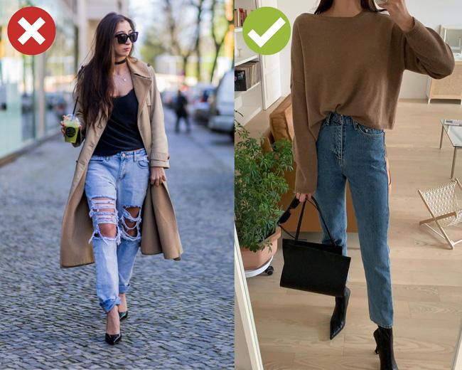 4 kiểu quần jeans có cho cũng không lấy vì diện lên lôi thôi, lỗi mốt và dễ còn tố sạch nhược điểm đôi chân-1
