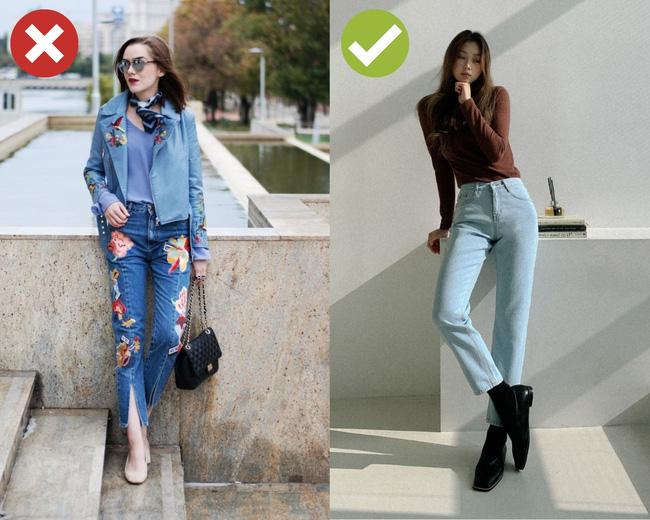4 kiểu quần jeans có cho cũng không lấy vì diện lên lôi thôi, lỗi mốt và dễ còn tố sạch nhược điểm đôi chân-4