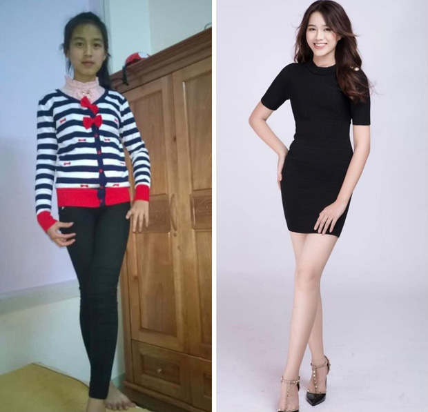 Xôn xao hình ảnh quá khứ của Hoa hậu Đỗ Thị Hà, gây chú ý nhất là đôi chân 1m1-1