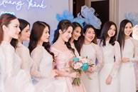 Bức ảnh đủ mặt hội chị em bạn dì nhà gái trong đám hỏi Phan Thành - Primmy Trương, đố ai đọ lại team 'so đẹp' này