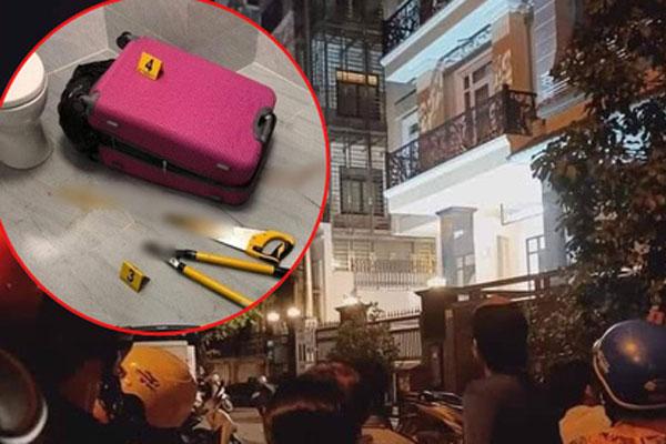 Phát hiện thi thể không nguyên vẹn trong vali tại căn hộ ở khu dân cư