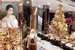 Ngọc Trinh 'lên đồ' đón Giáng Sinh cho biệt thự 40 tỷ, hệt như cung điện dát vàng lấp lánh