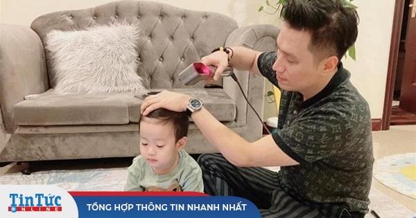 Diễn viên Việt Anh hoảng sợ khi ôm con chạy 3 bệnh viện trong một đêm