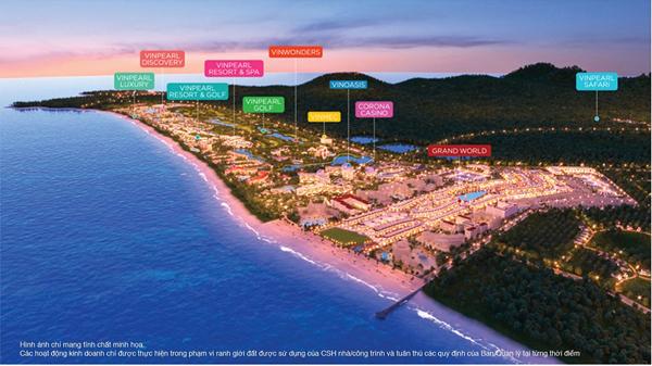 Những điểm nhấn khác biệt của Grand World Phú Quốc-2