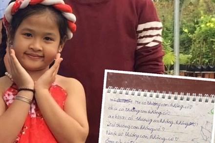 Bé gái lớp 2 viết nhật ký kể về gia đình, dân tình choáng váng phán ngay một câu: Anh trai đọc xong chắc
