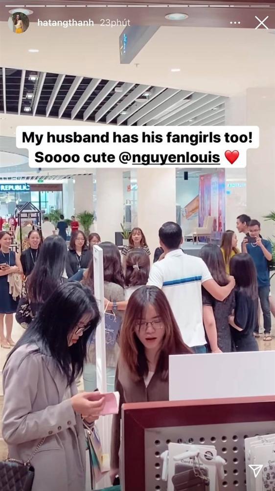 Phát hiện chồng được nhiều cô gái vây quanh, đây là phản ứng của Tăng Thanh Hà-1