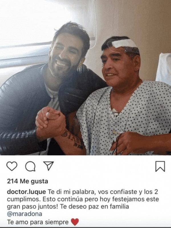 Tình tiết mới: Maradona tranh cãi và xô xát với bác sĩ trước khi qua đời vài ngày-1