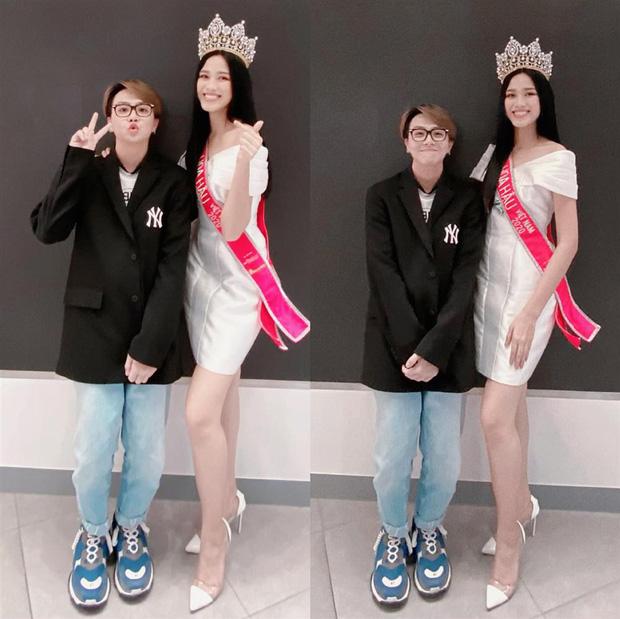 Dụi mắt vài lần mới nhận ra tân Hoa hậu Việt Nam Đỗ Thị Hà bên Duy Khánh, gương mặt hốc hác đáng lo-1