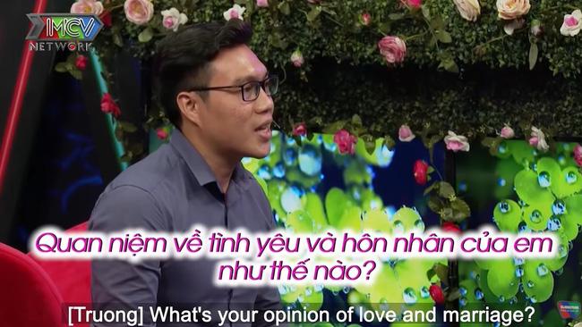 Trong tập 699 Bạn muốn hẹn hò, nam chính Quốc Cường dễ dàng chinh phục nữ chính Lê Thu.-8