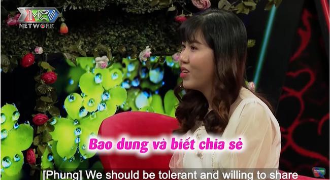 Trong tập 699 Bạn muốn hẹn hò, nam chính Quốc Cường dễ dàng chinh phục nữ chính Lê Thu.-9