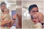 Đoạn video em bé khóc siêu dễ thương thu hút 60 triệu lượt xem đã gây tranh cãi nảy lửa vì 1 điều tối kị với trẻ nhỏ