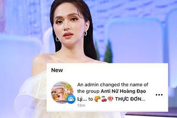 Group antifan khủng của Hương Giang bất ngờ chuyển thành... thực đơn ăn dặm?