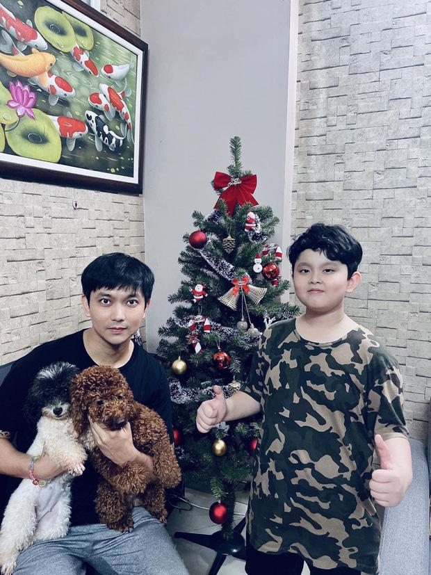 Như chưa hề có cuộc chia ly: Trương Quỳnh Anh vui vẻ hội ngộ Tim, khung ảnh 3 người cùng đón Giáng sinh gây xúc động-3