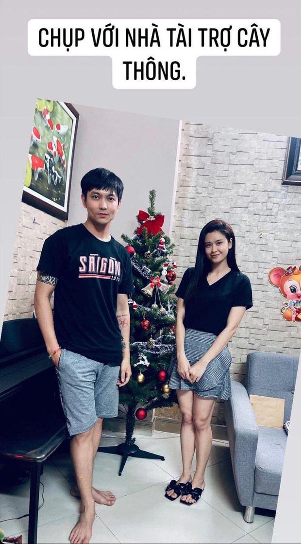 Như chưa hề có cuộc chia ly: Trương Quỳnh Anh vui vẻ hội ngộ Tim, khung ảnh 3 người cùng đón Giáng sinh gây xúc động-2