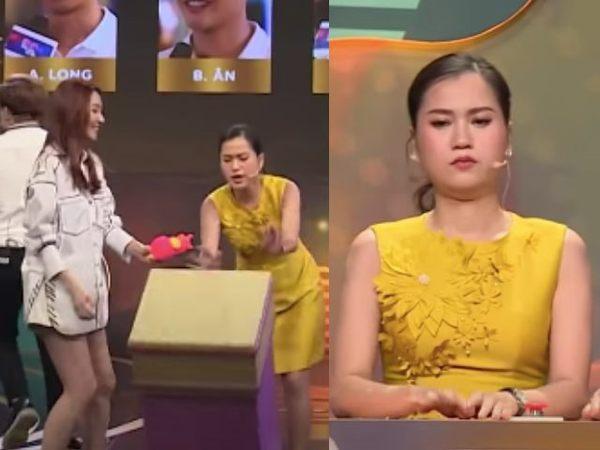 Túm áo, hất thức ăn vào đồng nghiệp ở game show Việt-3