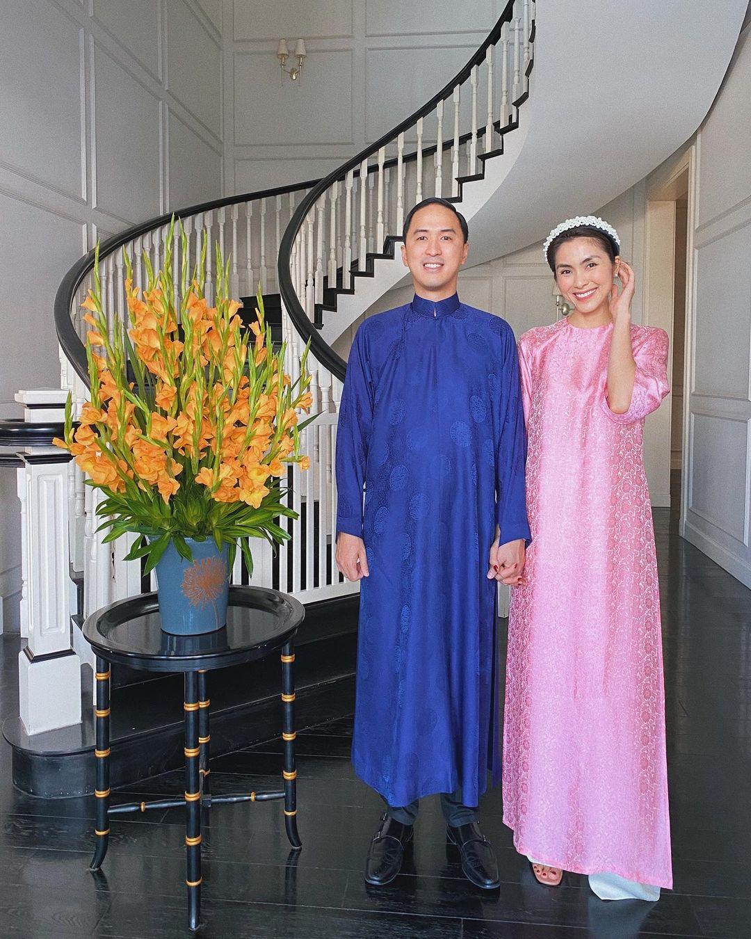 Hai nàng dâu hào môn đắt giá nhất Vbiz: Tăng Thanh Hà viên mãn cả gia đình lẫn sự nghiệp, Đặng Thu Thảo an yên làm mẹ 2 con vẫn hot nhờ điều này-18