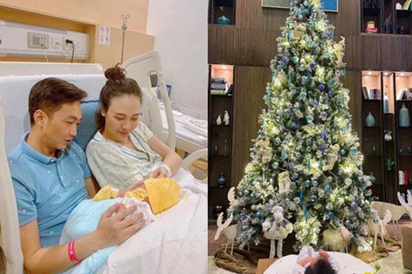Mùa Giáng sinh của con gái Cường Đô La - Đàm Thu Trang