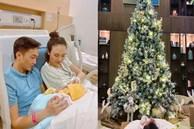 Mùa Giáng sinh của con gái Cường Đô La - Đàm Thu Trang: 'Chill' sương sương dưới cây thông khủng trong biệt thự triệu đô!