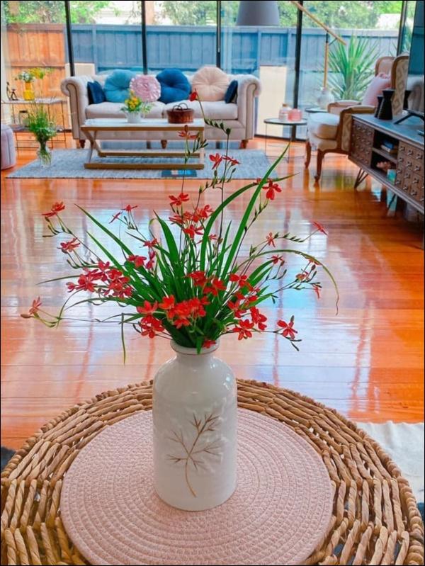Ngôi nhà bình yên ngập tràn nắng gió, hương thơm và phòng khách full kính trong suốt vạn người mơ-9