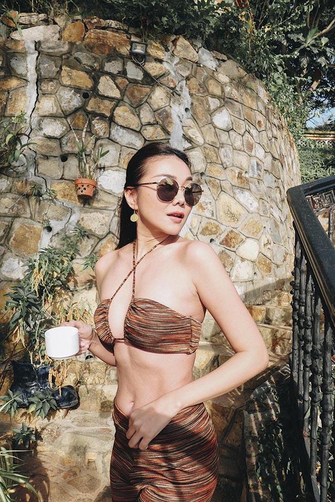 Siêu mẫu Thanh Hằng ở tuổi 37: Chưa lấy chồng, chăm khoe ảnh nóng bỏng-13