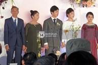 Trực tiếp đám cưới Công Phượng tại Nghệ An: Tân lang tân nương đan chặt tay nhau trên lễ đường, Dế Choắt - Văn Đức rạng rỡ chung khung hình