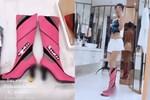 Mặc kệ chỉ trích, Ngọc Trinh vẫn sắm giày hình bộ phận sinh dục trị giá 4,7 triệu: Là mê đồ hiệu hay phản cảm nhức mắt?