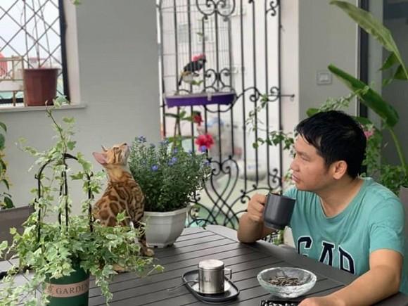 Khu vườn nhỏ xanh mướt, sai trĩu quả trên sân thượng của Ông hoàng nhạc đỏ Trọng Tấn-5