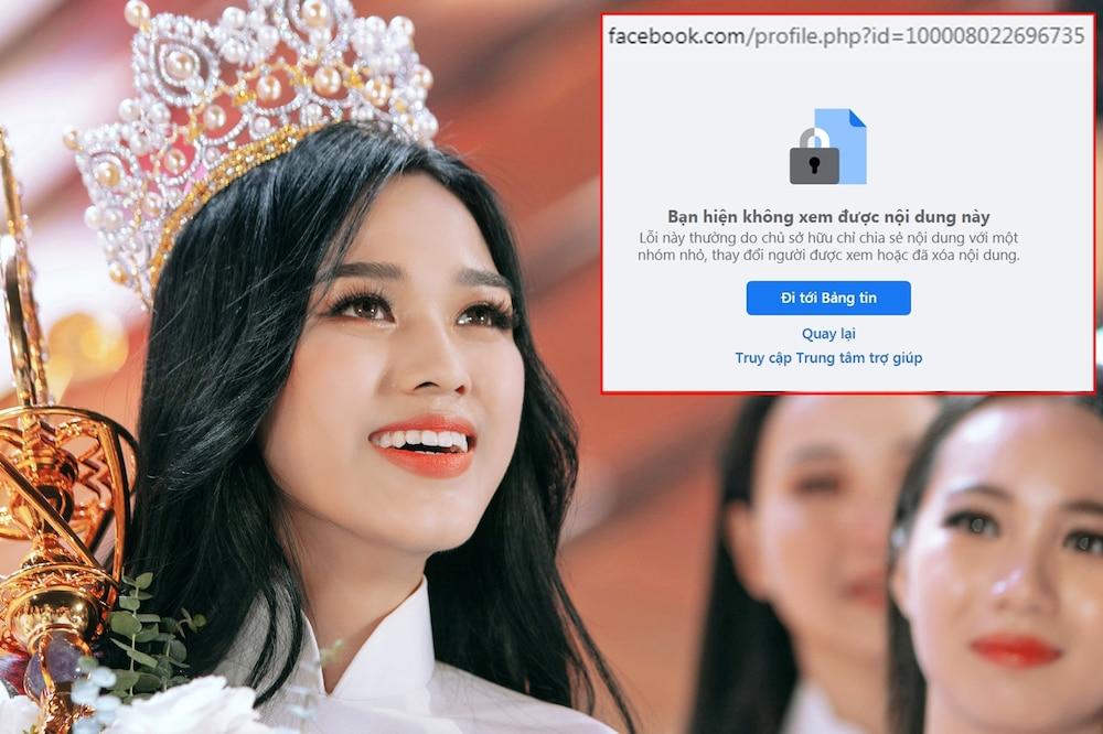 Hoa hậu Đỗ Thị Hà liên tục bị report phải tạm khóa facebook cá nhân-3