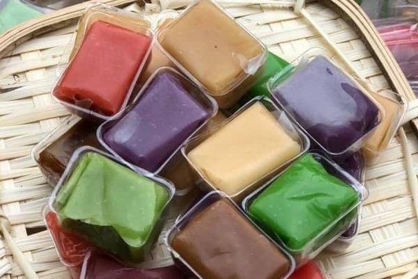 Kẹo dừa 7 vị đủ màu sắc: Lạ miệng, khách đặt mua cháy hàng-1
