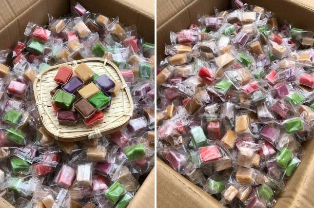 Kẹo dừa 7 vị đủ màu sắc: Lạ miệng, khách đặt mua cháy hàng-2