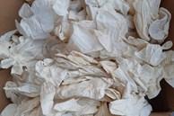 Đáng sợ, 2 container găng tay đã sử dụng từ Trung Quốc về Việt Nam