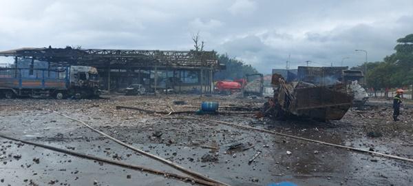 Một người Việt tử vong, 5 người bị thương trong vụ cháy nổ kinh hoàng ở Lào-1