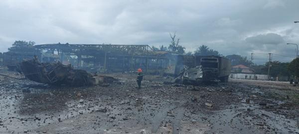 Một người Việt tử vong, 5 người bị thương trong vụ cháy nổ kinh hoàng ở Lào-2