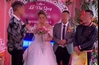 Biết em gái lười rửa bát nên ngày cưới anh trai đã lên sân khấu tặng một thứ bất ngờ, cô dâu chú rể xem xong chỉ biết cười nghẹn ngào
