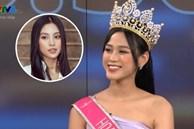Thời khắc Đỗ Thị Hà đăng quang Hoa hậu, Tiểu Vy đã ghé sát tai đàn em để nói một câu và đến giờ mới được hé lộ