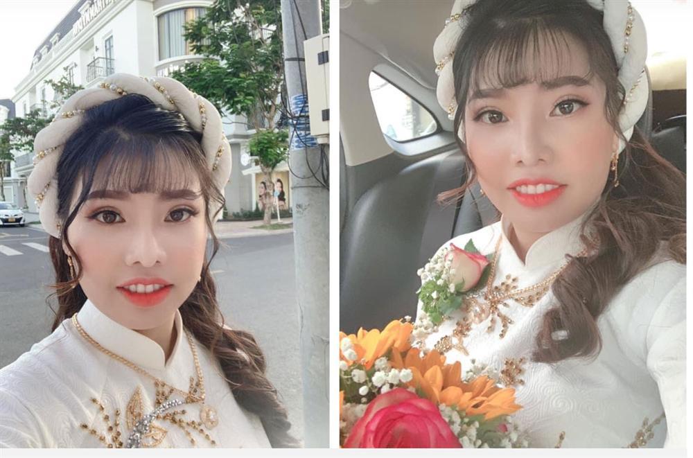 Phượng Thị Nở chính thức lên xe hoa lần 2, nhan sắc hậu dao kéo trong bộ váy cô dâu khiến nhiều người bất ngờ-2