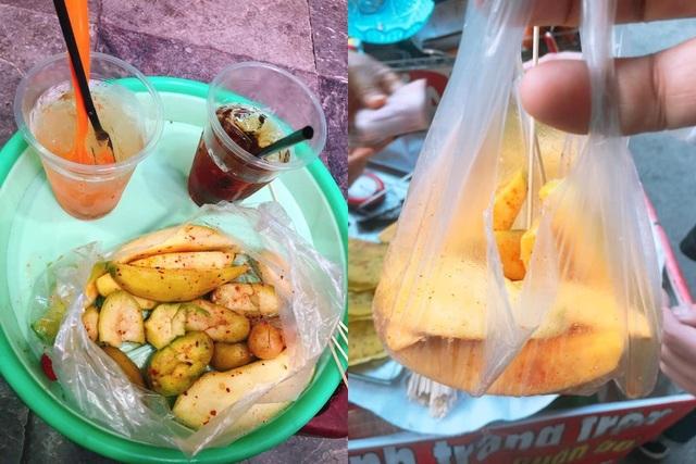 Du khách Sài Gòn bị chặt chém túi hoa quả rong 200 nghìn đồng ở Hà Nội-2