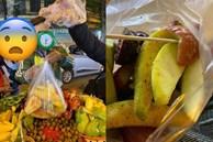 Du khách Sài Gòn bị 'chặt chém' túi hoa quả rong 200 nghìn đồng ở Hà Nội