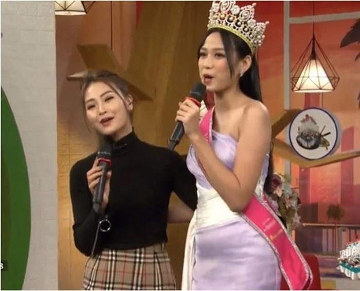Tân Hoa hậu Đỗ Thị Hà bị soi eo kém thon trên sóng truyền hình-3